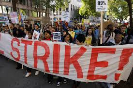 FALLING THROUGH THE CRACKS: why labor actions are not news, by Akilah Monifa