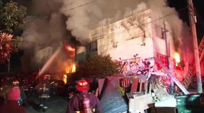 Pacific Felt Factory Leads Bay Area Response To Ghost Ship Fire