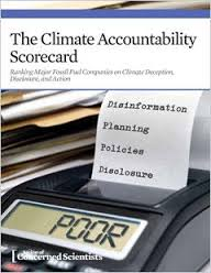 Climate Accountability Scorecard