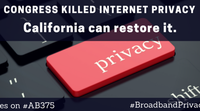 Model State Broadband Privacy Law Introduced