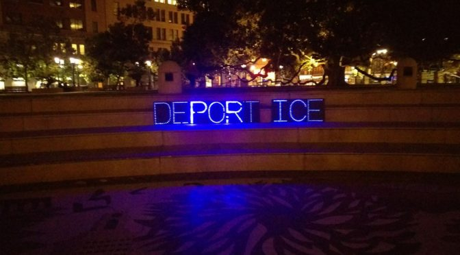 Deporting ICE