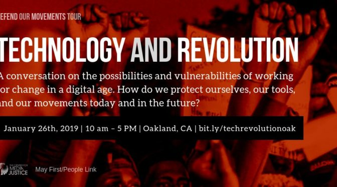 Movement Technology Congress – Oakland