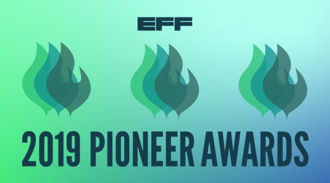 Oakland Privacy – 2019 Pioneer Award