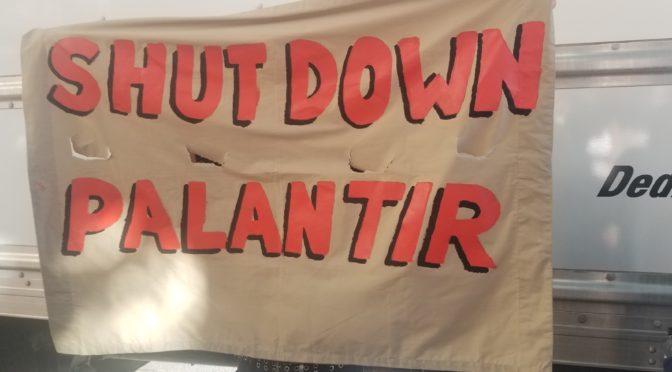 Close The Camps at Palantir 9/13